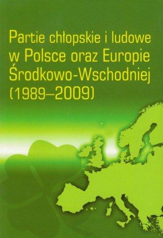Partie chłopskie i ludowe w Polsce - okładka książki
