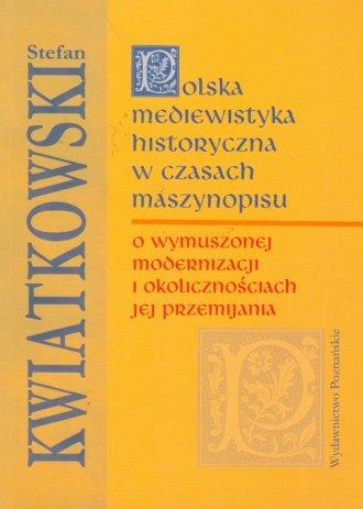 Polska mediewistyka historyczna - okładka książki