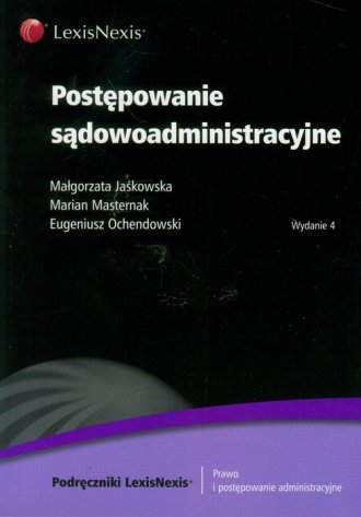 Postepowanie sądowoadministracyjne - okładka książki