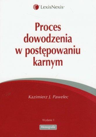 Proces dowodzenia w postępowaniu - okładka książki