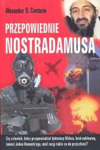 Przepowiednie Nostradamusa - okładka książki