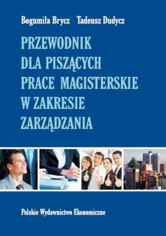 Przewodnik dla piszących prace - okładka książki