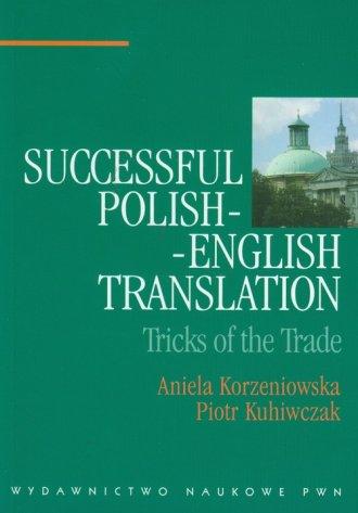 Successful Polish-English Translation - okładka książki