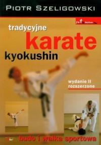 Tradycyjne karate kyokushin - okładka książki