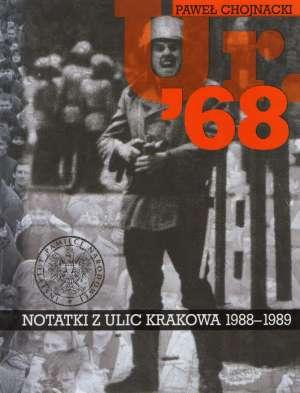 Ur. 68 Notatki z Krakowa 1988-1989 - okładka książki