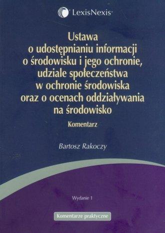 Ustawa o udostępnianiu informacji - okładka książki