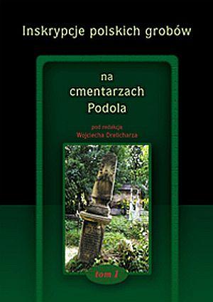 Inskrypcje polskich grobów na cmentarzach - okładka książki