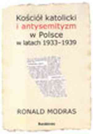 Kościół katolicki i antysemityzm - okładka książki