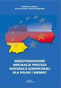 Międzynarodowe implikacje procesu - okładka książki