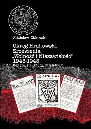 Okręg Krakowski Zrzeszenia Wolność - okładka książki