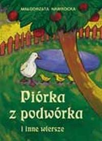 Piórka z podwórka i inne wiersze - okładka książki