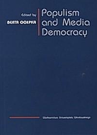 Populism and Media Democracy - okładka książki