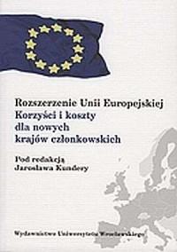 Rozszerzenie Unii Europejskiej. - okładka książki