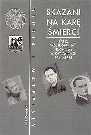 Skazani na karę śmierci przez Wojskowy - okładka książki