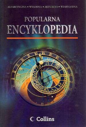 Encyklopedia popularna Collins - okładka książki