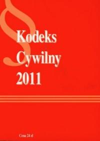 Kodeks cywilny 2011 - okładka książki