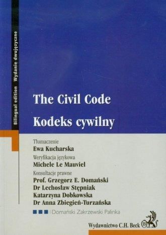 Kodeks cywilny / The Civil Code - okładka książki