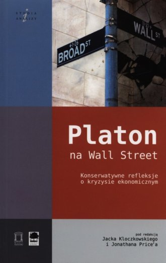 Platon na Wall Street - okładka książki