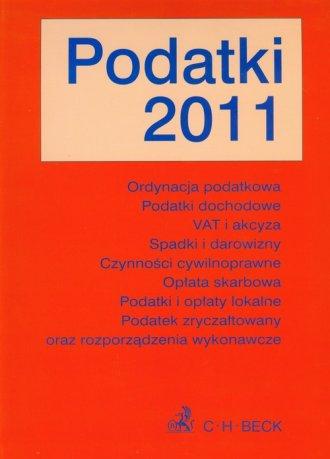 Podatki 2011 - okładka książki