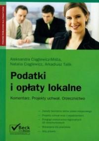 Podatki i opłaty lokalne - okładka książki