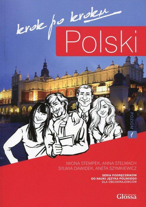 Polski krok po kroku (+ CD). Podręcznik - okładka podręcznika