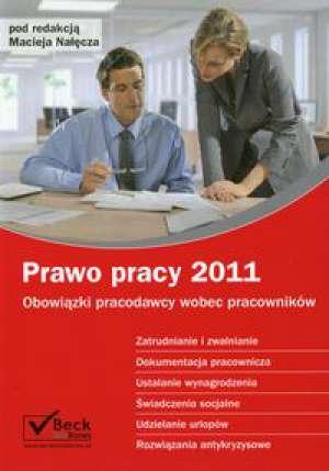 Prawo pracy 2011 - okładka książki