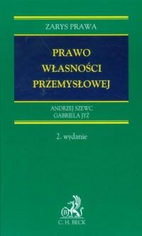 Prawo własności przemysłowej - okładka książki
