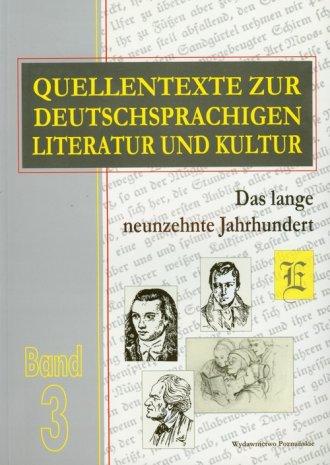 Quellentexte zur Deutschsprachigen - okładka książki