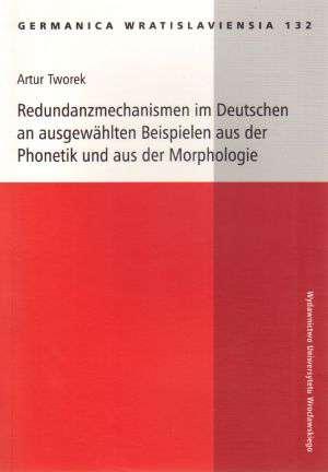 Redundanzmechanizmen im Deutschen - okładka podręcznika