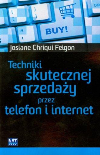 Techniki skutecznej sprzedaży przez - okładka książki