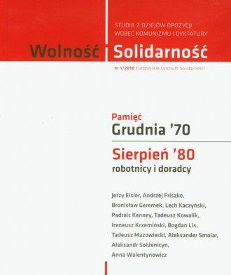 Wolność i Solidarność 1/2010. Studia - okładka książki