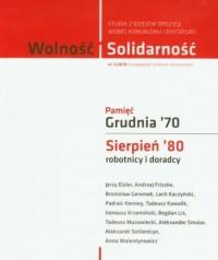 Wolność i Solidarność 1/2010. Studia z dziejów opozycji wobec komunizmu i dyktatury - okładka książki