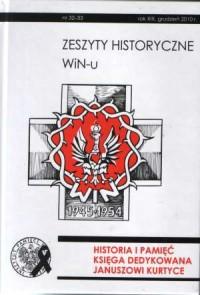 Zeszyty Historyczne Win-u nr 32-33 - okładka książki