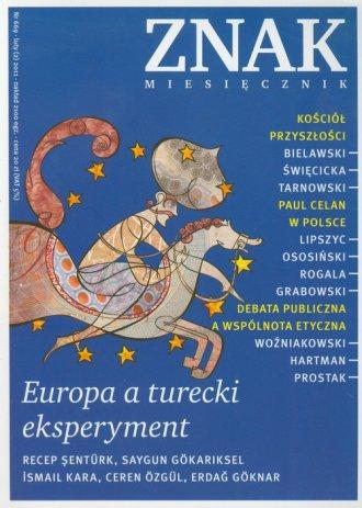 Znak 02(669)/2011. Europa a turecki - okładka książki