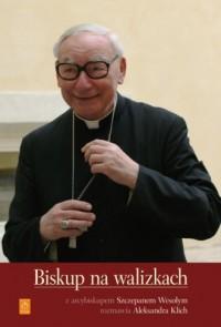 Biskup na walizkach - okładka książki