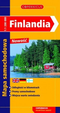 Finlandia - okładka książki