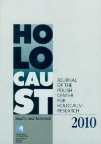 Holocaust Studies and Materials 2010 - okładka książki