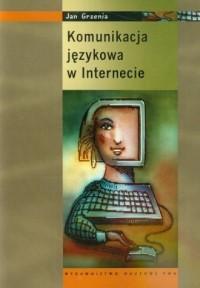 Komunikacja językowa w internecie - okładka książki