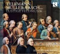 Lustige feldmusik (CD) - okładka płyty