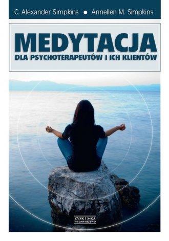 Medytacja dla psychoterapeutów - okładka książki