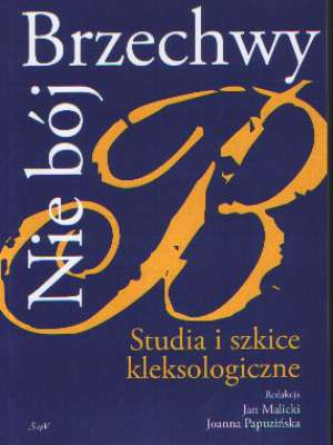 Nie bój Brzechwy. Studia i szkice - okładka książki