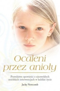 Ocaleni przez anioły - okładka książki