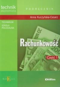 Rachunkowość cz. 1. Podręcznik - okładka książki