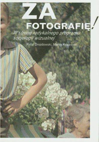 Za fotografię - okładka książki