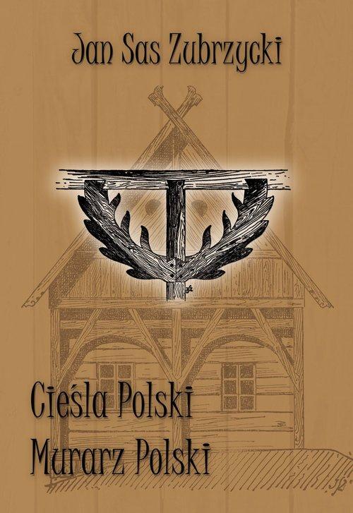 Cieśla polski i Murarz polski - okładka książki