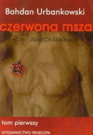 Czerwona msza czyli uśmiech Stalina. - okładka książki