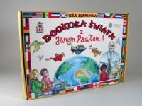 Dookoła świata z Janem Pawłem II (gra planszowa) - zdjęcie zabawki, gry