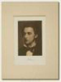 Fryderyk Chopin - portret (oprawa passepartout) - zdjęcie reprintu, mapy