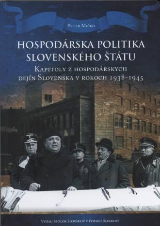 Hospodarska Polityka Slovenskeho - okładka książki