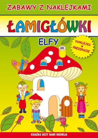 Łamigłówki Elfy - okładka książki